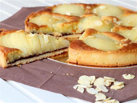 recette dessert a la poire tarte poires et chocolat au thermomix cookomix