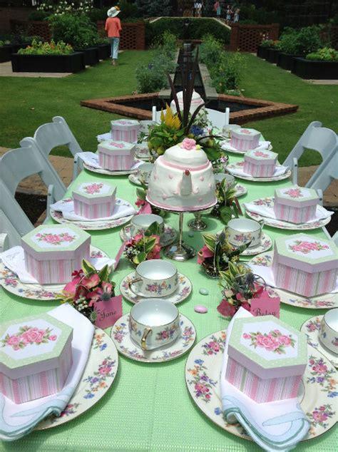 tea party table settings ideas birthday party ideas blog garden tea party