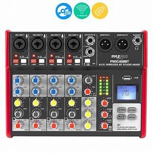 Pylepro - Pmxu68bt - Musical Instruments - Mixers - Dj Controllers