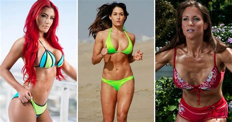 top  hottest pics  wwe divas  bikinis