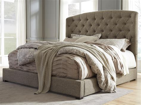 king tufted headboard california king upholstered bed with arched tufted