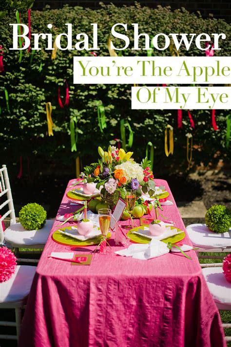 youre  apple   eye bridal shower