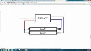 What Is The Ballast Wiring Set Up When Converting From A