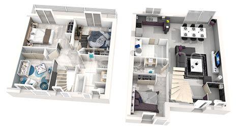 chambre 3d plan 3d chambre excellente maison plan architecte maison