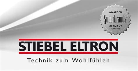 Stiebel Eltron Eschwege by Stiebel Eltron Erneut Superbrand
