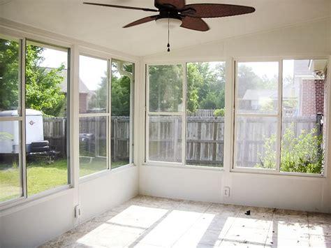 eze breeze horizontal slider white frame clear vinyl