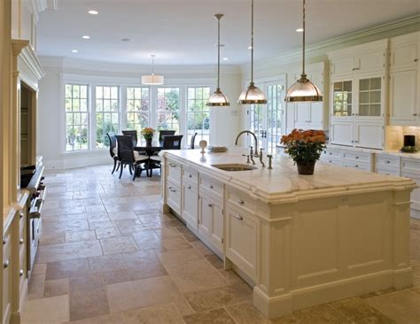 Excellent Floor Tiles With Classic Extra Large Island