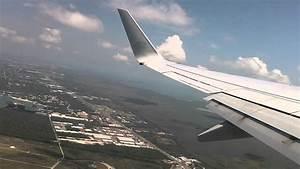 Despegue De Canc U00fan - Aeromexico Boeing 737-700