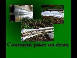Comment Faire Un Drainage : tuto comment poser un drain dans son jardin youtube ~ Farleysfitness.com Idées de Décoration