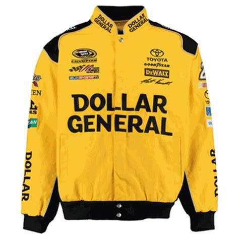 matt kenseth dollar general mens yellow twill nascar