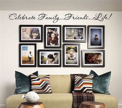 ebay home interior celebrate family vinyl wall