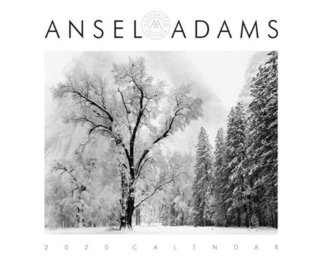 ansel adams wall calendar ansel adams item
