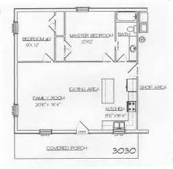 40X60 Barndominium Floor Plans