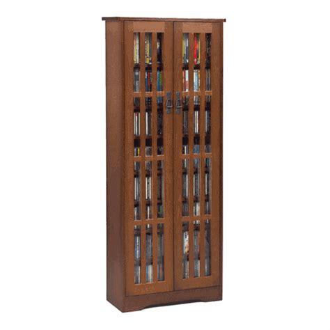 Leslie Dame Mission Media Cabinet by Leslie Dame Mission Style Multimedia Storage Cabinet