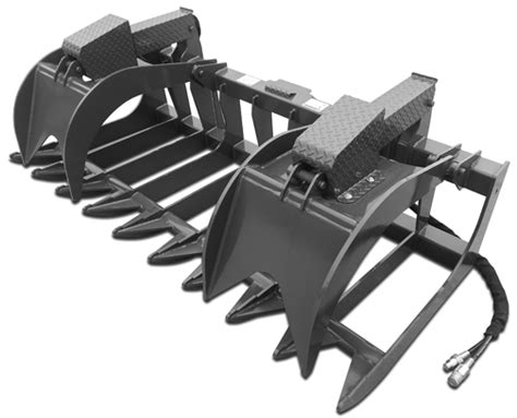 treme root grapple  cid skid steer attachments