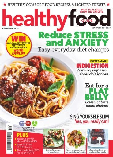 guide cuisine magazine healthy food guide magazine december 2015 subscriptions pocketmags