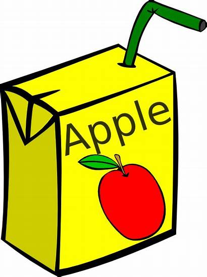 Juice Apple Box Clip Clker Clipart