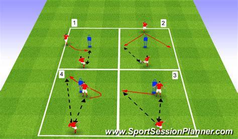 footballsoccer developing play  movement
