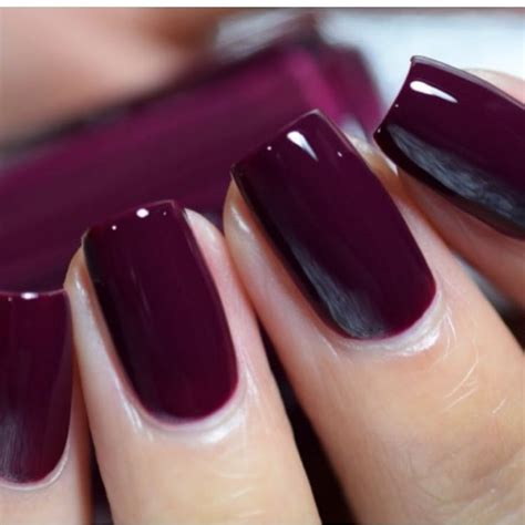 fall color nails best 25 wine nails ideas on maroon nail