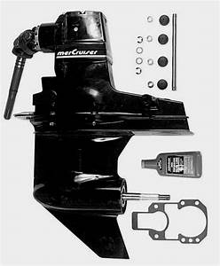 Oem Facotry Mercruiser Alpha One 1 Gen 2 Ii Outdrive Drive