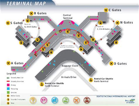 seattle tacoma intl airport sea car rentals avis