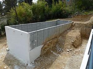 Hivernage Bassin Exterieur : piscine autoport e en b tonmarinal ~ Premium-room.com Idées de Décoration