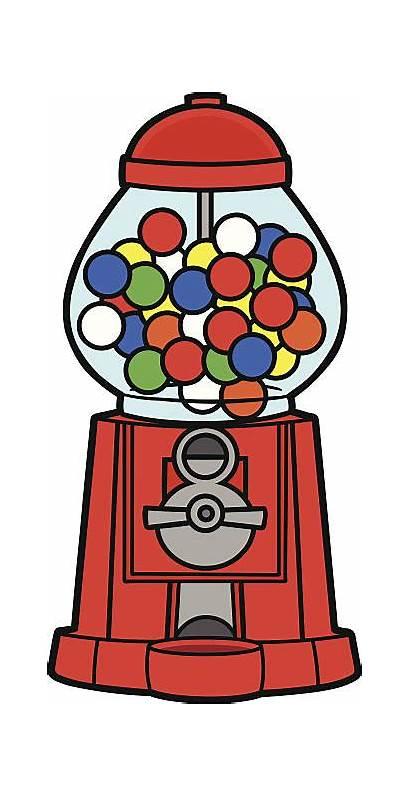 Gumball Machine Clip Vector Vectors Illustrations Graphics