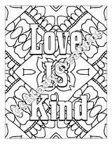 Coloring Kind Adult Word Printable Letter Sheet Print Pages Grown Zodiac Etsy Detailed Sagittarius Star Ups Digital Sign Lettering Gel sketch template