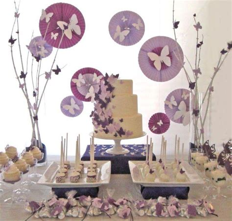 adorable butterfly baby shower ideas table decorating
