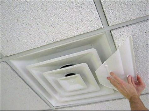 Ceiling Air Vent Deflector by New Airvisor Air Deflector For Office Ceiling Vents 24 X