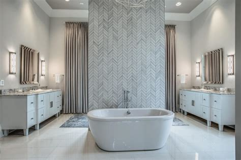 gray transitional bathroom pictures hgtv