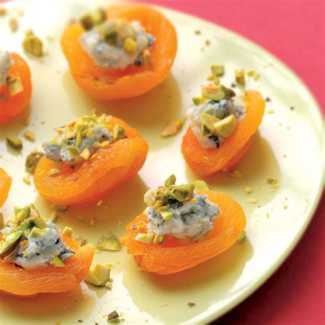 canapes fruit apricot canapes recipe eatingwell