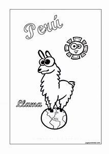 Dibujos Peru para colorear Manualidades Infantiles