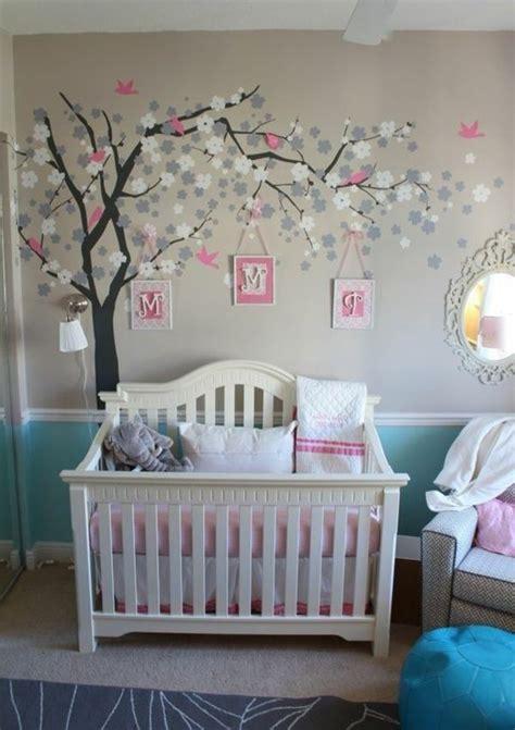 Wandgestaltung Babyzimmer Mädchen by Wandgestaltung Babyzimmer M 228 Dchen