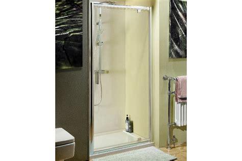 atlantic shower door atlantic 760mm pivot shower door trade bathrooms budget