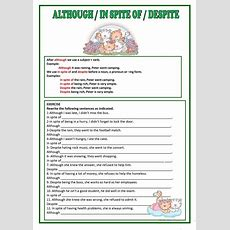 Connectors And, But, Because, So Worksheet  Free Esl Printable Worksheets Made By Teachers