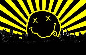Image Gallery nirvana smiley face