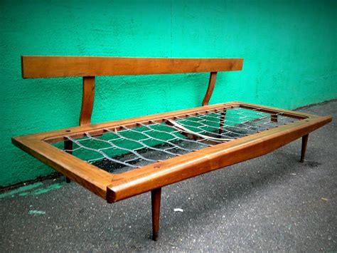 Clean Mid Century Modern A Frame by On Hold Vintage Mid Century Modern Day Bed Sofa Frame