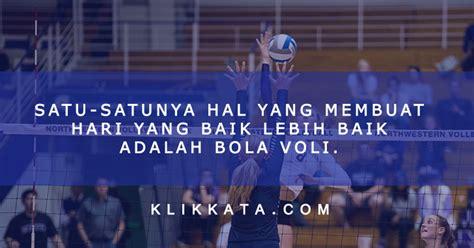 kata kata bola voli volleyball quotes kumpulan