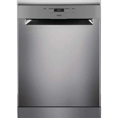 lave vaisselle pose libre whirlpool owfc3c26x lave vaisselle pose libre 14 couverts a inox achat vente lave