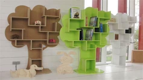Bookcase for kids room, wooden tree bookshelf tree bookshelves for kids. Interior designs
