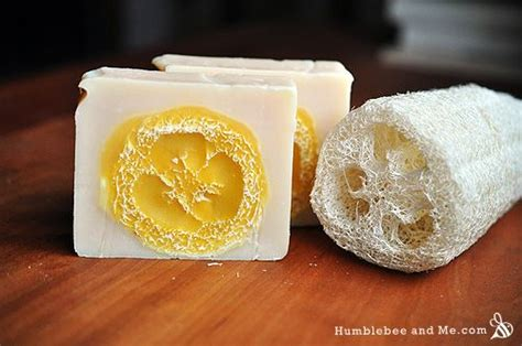 loofah soap how to make loofah soap homemade soaps and bar