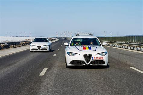 Alfa Romeo Giulia Veloce Joins Police Force In Romania