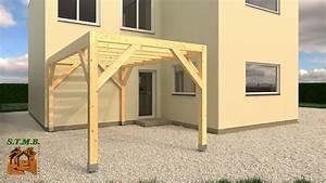 Construire Une Pergola En Bois : construire sa pergola bois perfect comment construire une ~ Premium-room.com Idées de Décoration