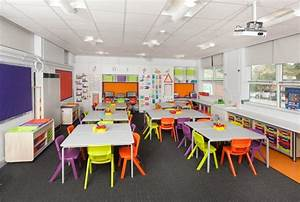 Classroom pictures courtesy of eme furniture designed for School classroom interior decoration