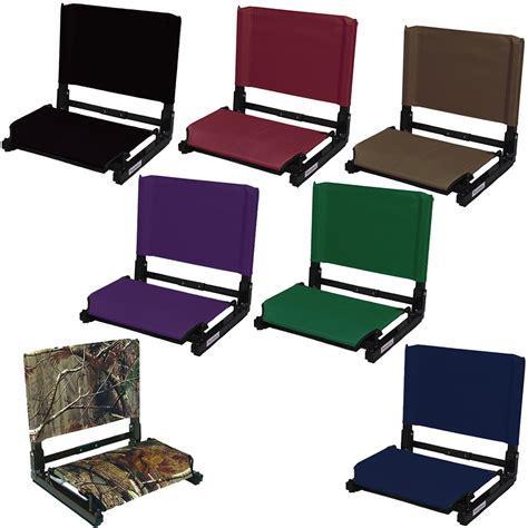Stadium Seat For Bleachers by Stadium Seat With Back Stadium Seat Chair Anthem Sports