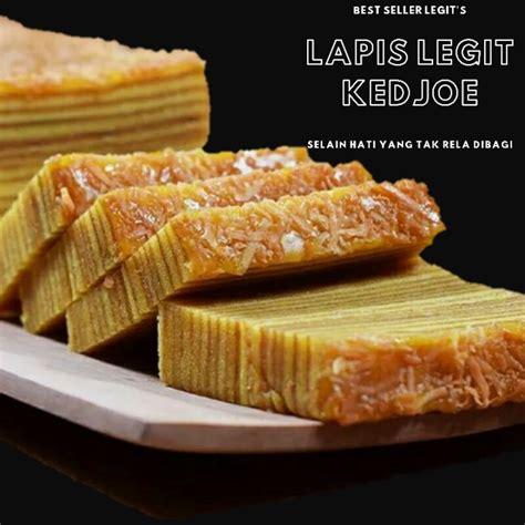 380gr mentega wisman 3sdm susu kental manis 30 kuning telur 250gr gula pasir 50gr tepung terigu. Lapis Legit Premium Moist Resep Kuno | Shopee Indonesia