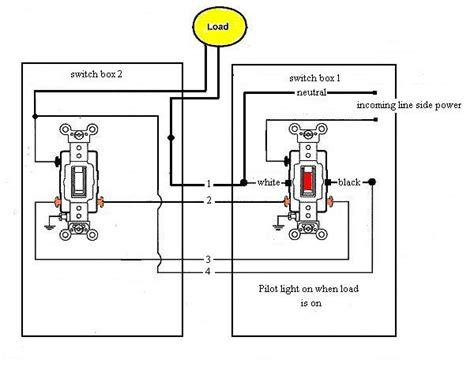 Leviton T5225 Wiring Diagram Switch by 3 Way Switch With Pilot Light Electrical Diy Chatroom