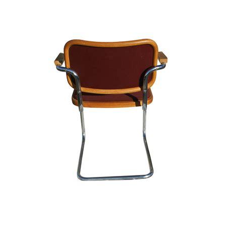 marcel breuer cesca chair uk knoll marcel breuer cesca side chair burgundy ebay