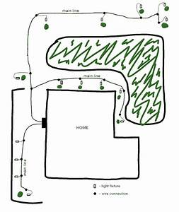 Low Voltage Landscape Lighting Wiring Diagram